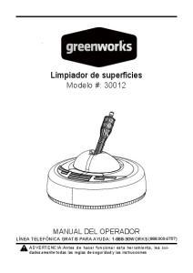Limpiador de superficies
