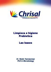 Limpieza e higiene Probiotica