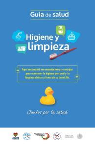 limpieza Higiene y Guía de salud