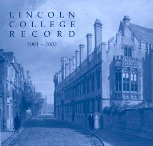 Lincoln College Contact Information