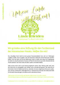 Linde Heiden Projektgruppe Pro Hotel Linde Heiden