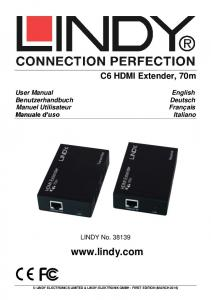 LINDY ELECTRONICS LIMITED & LINDY-ELEKTRONIK GMBH - FIRST EDITION (MARCH