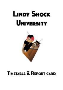 Lindy Shock University