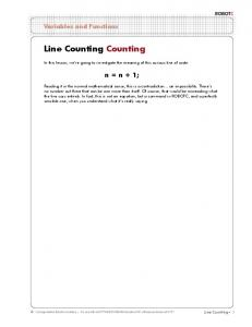 Line Counting Counting