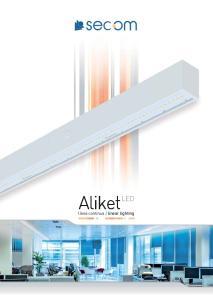linear lighting