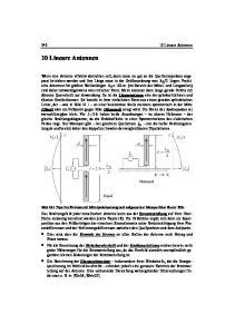 Lineare Antennen