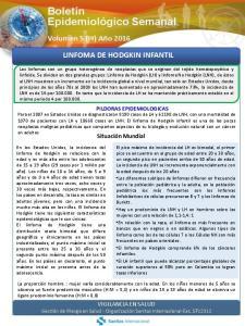 LINFOMA DE HODGKIN INFANTIL