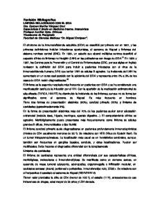 LINFOMA RELACIONADO CON EL SIDA