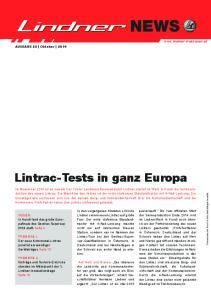 Lintrac-Tests in ganz Europa