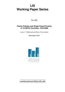 LIS Working Paper Series