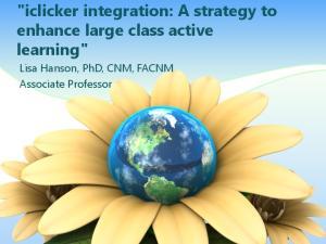 Lisa Hanson, PhD, CNM, FACNM Associate Professor