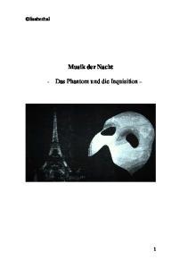 lisabethal Musik der Nacht - Das Phantom und die Inquisition