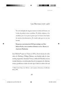 Lise Meitner ( )