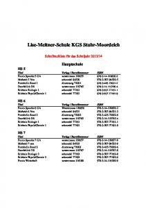 Lise-Meitner-Schule KGS Stuhr-Moordeich