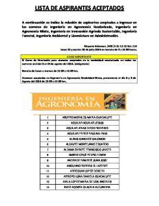 LISTA DE ASPIRANTES ACEPTADOS