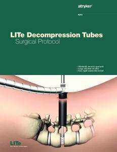 LITe Decompression Tubes