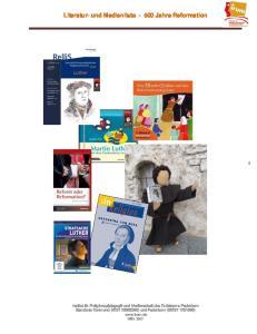 Literatur- und Medienliste Jahre Reformation