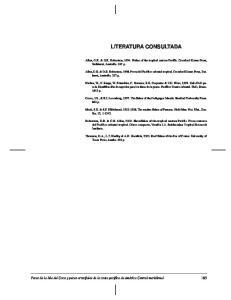 LITERATURA CONSULTADA