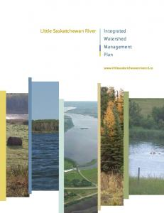Little Saskatchewan River. Integrated Watershed Management Plan