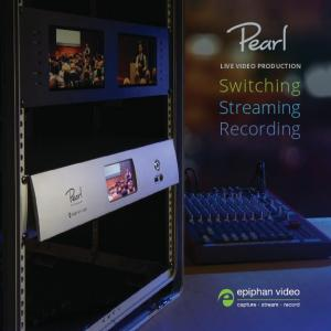 LIVE VIDEO PRODUCTION. Switching Streaming Recording