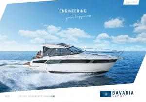 LIVE YOUR DREAM WITH THE BAVARIA S36