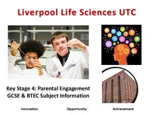 Liverpool Life Sciences UTC