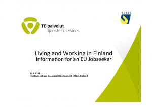 Living and Working in Finland