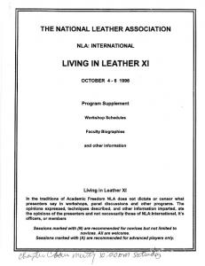 LIVING IN LEATHER XI