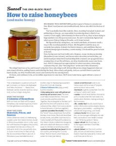 living local How to raise honeybees (and make honey)