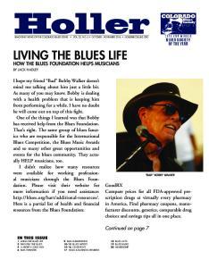 LIVING THE BLUES LIFE