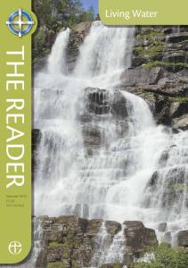 Living Water THE READER. Summer Vol 110 No2