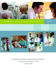 Livingston Hospital and Healthcare Services
