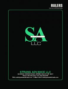 LLC STRANG ADVANCE LLC