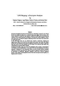 LNG Shipping: a Descriptive Analysis