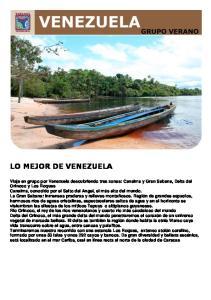 LO MEJOR DE VENEZUELA