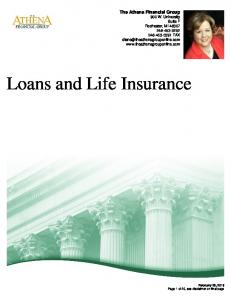 Loans and Life Insurance