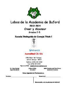 Lobos de la Academia de Buford