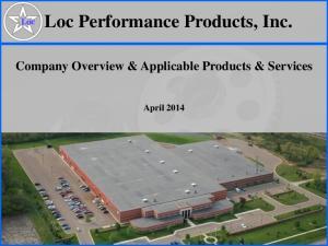 Loc Performance Products, Inc