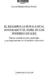 LOCAL INTEGRADO Y EL PAPEL DE LOS PODERES LOCALES
