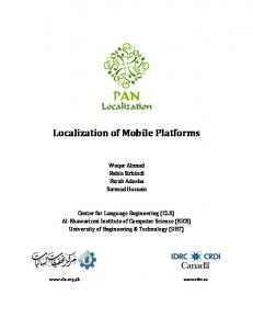 Localization of Mobile Platforms