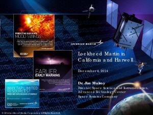 Lockheed Martin in California and Harwell