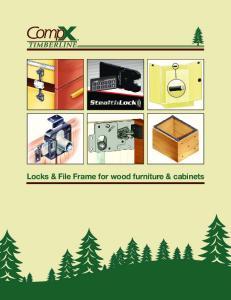 Locks & File Frame for wood furniture & cabinets