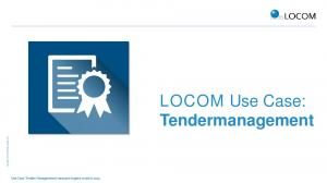 LOCOM Use Case: Tendermanagement