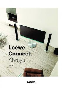 Loewe Connect. Always on