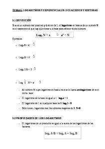 log a A B = log a A + log a B