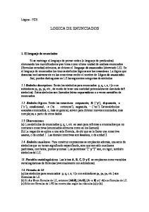 LOGICA DE ENUNCIADOS