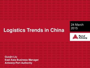 Logistics Trends in China