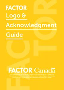 Logo & Acknowledgment Guide