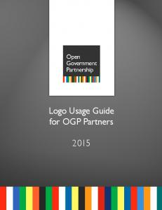 Logo Usage Guide for OGP Partners