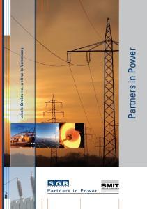 Lokale Strukturen, weltweite Vernetzung. Partners in Power